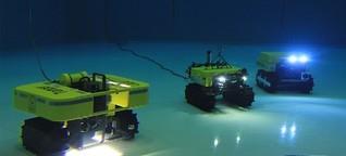 Roboter auf Tauchgang: Wie Hightech-Geräte für uns die Tiefsee erkunden