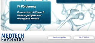 """MedTech Navigator.de"" - Informationsportal für Medizintechnik-Entwickler"