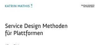 Service Design Methoden für Plattformen