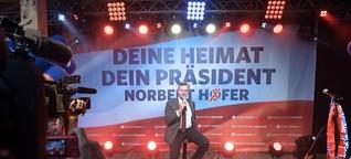 """Hofer in der Prater-Alm: """"Gebe euch euer Österreich zurück"""""""