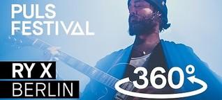 360° RY X - Berlin feat. Münchner Rundfunkorchester (live beim PULS Festival 2016)