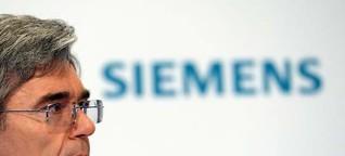Kaeser in der Kritik: Krisenstimmung bei Siemens
