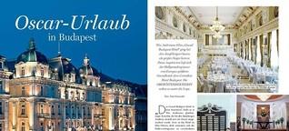 Oscar-Urlaub in Budapest