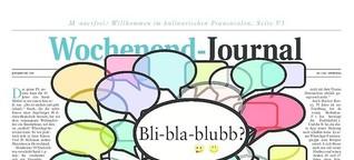 WhatsApp: Bli-bla-blubb?