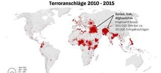 Datenanalyse: So verlagert sich der Terrorismus