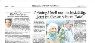 Offen gesagt... zur möglichen Wiederwahl Merkels