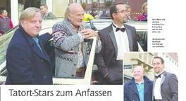 Prahl und Liefers - Tatort-Stars zum Anfassen