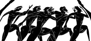 Antikes Olympia: Per Foulspiel in die Ewigkeit