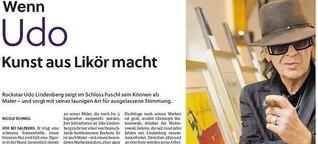 Udo Lindenberg zeigt seine Bilder