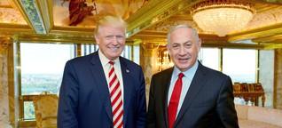 Benjamin Netanjahu: Letzte Hoffnung Trump
