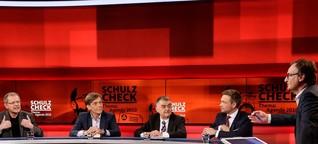 """""""Hart aber Fair"""": Martin Schulz, der Chuck Norris der deutschen Politik"""