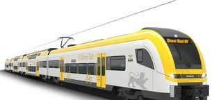 Neues Design für Regionalzüge: Schwäbische Farben