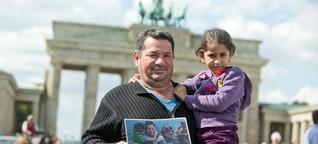 """""""Wir sind Mama Merkel sehr dankbar"""": Laith Majids Weg aus der Hölle - WELT"""