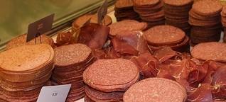 Verdener Wochenmarkt: Gegen Massentierhaltung, aber...