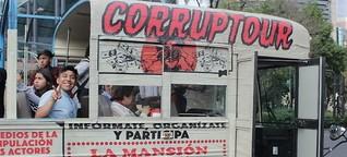 Visita guiada por los emblemas de la corrupción en México