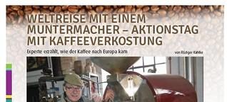 Kaffee-Aktionstag: Weltreise mit einem Muntermacher