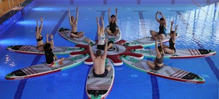Sylt goes SUP-Yoga - Sylt und der Norden