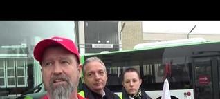 Busstreik in Offenbach: Kein Chaos aber schlechte Stimmung