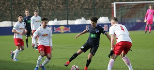 A-Junioren von RB Leipzig mit 1:1-Remisgegen Hertha BSC Berlin