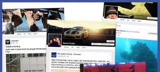 So unterschiedlich sehen Facebook-Blasen aus