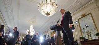"""Vom """"First Amendment"""" zu """"Fake News"""": US-Präsidenten und die Presse"""
