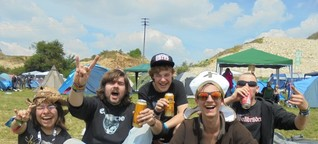 Wenn der Berg rockt: Bands mit Tiefsinn