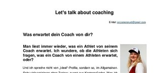Let's talk about (Ironman) Coaching