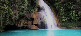 travel guide to kawasan falls badian cebu, Bus fare,best time to go