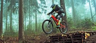 Mountainbike Actionsport