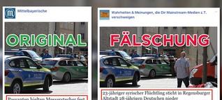 So erfolgreich hetzen Facebook-Seiten mit verfälschten Überschriften gegen Flüchtlinge