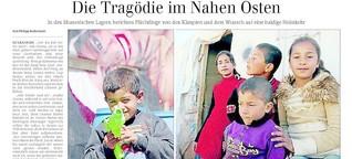 Die Tragödie im Nahen Osten