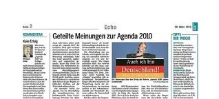 Meinung & Umfrage: Kein Erfolg Agenda 2010