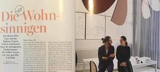 Interview mit Designerpaar Stine Gam & Enrico Fratesi für Myself 11/2016