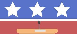 US-Vorwahlkampf: Großmaul, Good Guy und All American Girl