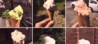 Die skurrilsten Sorten der Berliner Hipster-Eisdealer - WELT