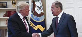 Präsident unter Zugzwang: Trump verteidigt Weitergabe sensibler Informationen an Russland