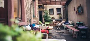 Café Vogelfrei - Leckereien in Wohnzimmeratmosphäre