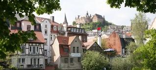 Marburg: Aufzug in die Wolken