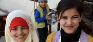 Syrische Flüchtlinge in Amman