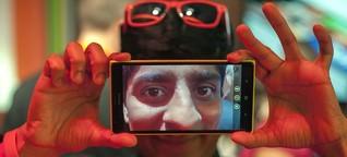 #digitaldetox - Mit der Kopfkamera im Wald stehen
