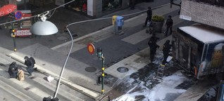 Terror in Stockholm (4 Tote) - Sein Blut brachte die Ermittler auf die Spur des Attentäters - Medien: Drei weitere Festnahmen
