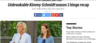 My favorite quotes from Unbreakable Kimmy Schmidt's season 2