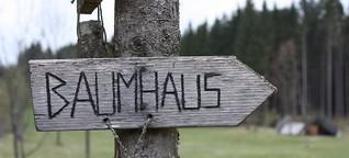 Das Wildniscamp am Falkenstein –  raus aus den Pantoffeln, rein in die Natur