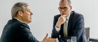 Digitalisierung bei Kärcher - Wortwechsel zwischen Hartmut Jenner und Jörg Zeuner