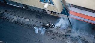 Mit Tränengas aufwachsen