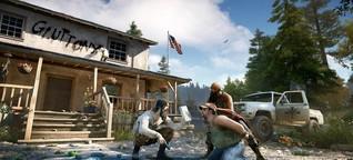 """Protest gegen Egoshooter """"Far Cry 5"""": Der Feind im virtuellen Spiegel"""