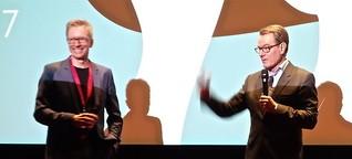 Moderation mit Hollywood-Star Bryan Cranston
