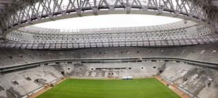 Das Moskauer Luschniki-Stadion: Lenins Fußballtempel