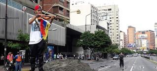 Radio FM4 - Musik und Protest in Venezuela