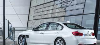 Unterwegs im Plug-in-Hybrid BMW 330e: Sparsamer als ein Diesel